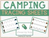 Camping Tracing Sheets