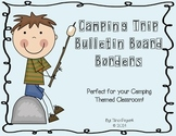 Camping Trip Bulletin Board Borders