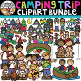 Camping Trip Clipart Bundle {Camping Clipart}