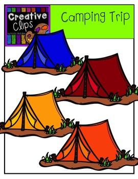 Camping Trip {Creative Clips Digital Clipart}