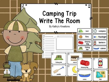 Camping Trip Write The Room