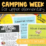 Camping Unit for Upper Elementary | Distance Learning