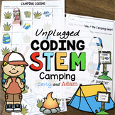 Camping Unplugged Coding End of the Year Activity