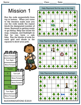 Camping Unplugged Coding Problems