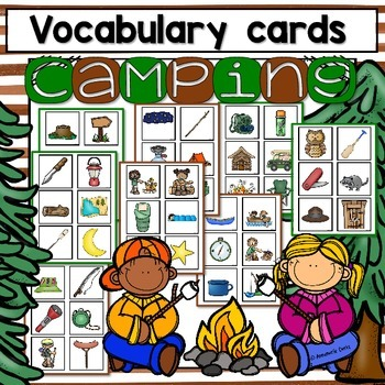 Camping Vocabulary