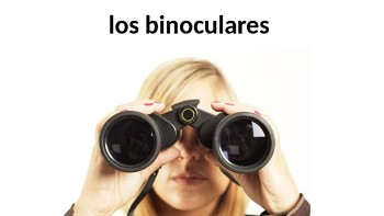 Camping Vocabulary - Días inolvidables - PowerPoint - Realidades 3 - Chapter 1