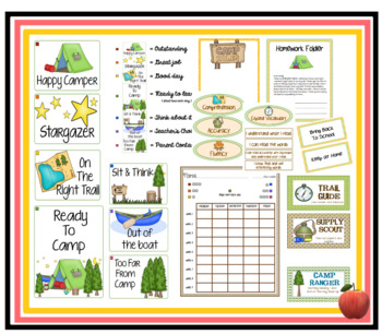 Camping We Will Go THEME PACK