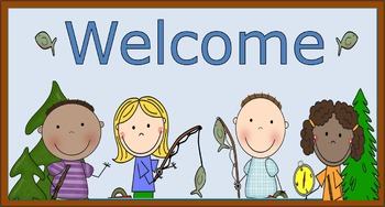 Camping Welcome Clipart