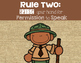 Camping Whole Brain Teaching Rules -FREEBIE-