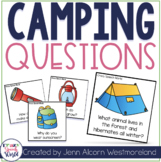 Camping With Questions!  {Yes/No & Wh Questions for Speech Therapy}