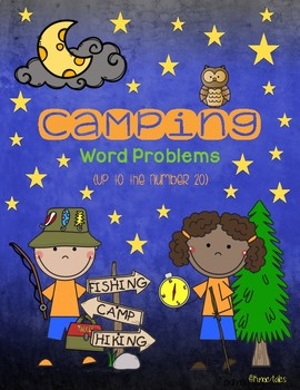 Camping: Word Problems Up To 20