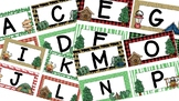 Camping Word Wall Letters