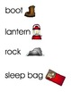 Camping Word Wall/Vocabulary Cards