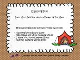 Camping Words Game Bundle