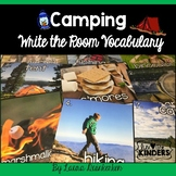 Camping Write the Room Vocabulary