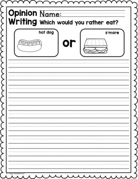 group writing activities elementary