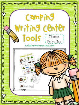 Camping Writing Center Tools: Theme Words