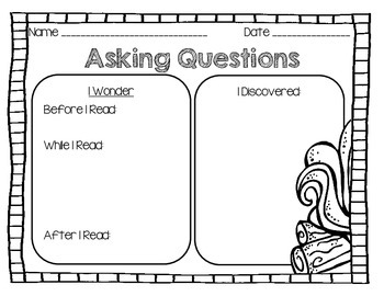 Camping Writing, Graphic Organizers and More