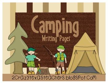 Camping Writing Packet