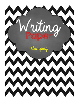 Camping Writing Paper