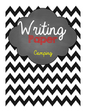 Camping Writing Paper