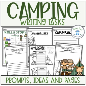 Camping Writing Tasks