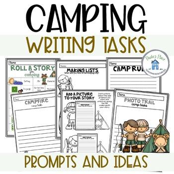 Camping Writing Tasks