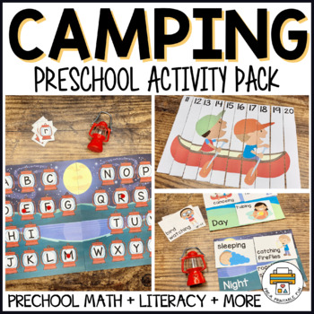 Camping Activities for Pre-K, Preschool and Tots