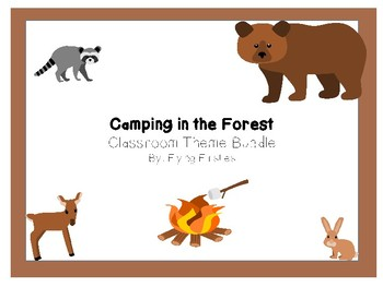 Camping and Forest Theme Growing Bundle