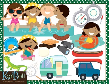 Camping and Summer Clip Art