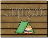 Camping classroom Jobs (adjustable)