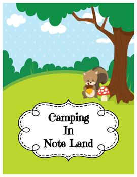 Camping in Note Land