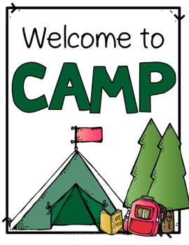 Camping In The Classroom 25 Pages Of Camp Activities And Fun