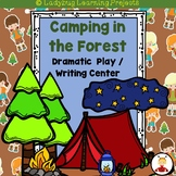 Camping in the Forest Dramatic Play / Writing Center Bundle