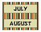 Camping months of the year