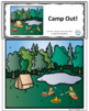 Camping-themed Create-a-Scene Interactive Book