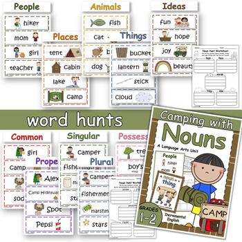 Camping with Nouns