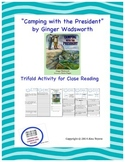 """""""Camping with the President"""" Trifold Activity Reading Wond"""