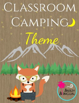 Camping/ woodland classroom theme