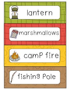 Camping writing center