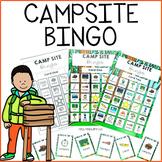 Campsite Camping Bingo Game