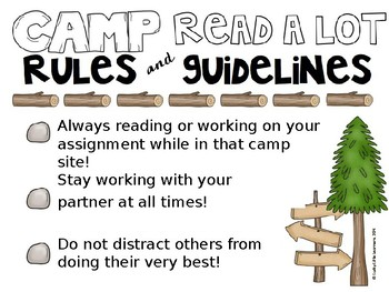 Campsite Rules and Guidelines