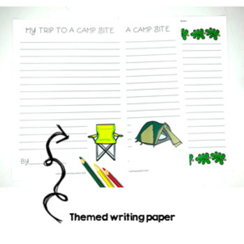 Campsite Writing Activity