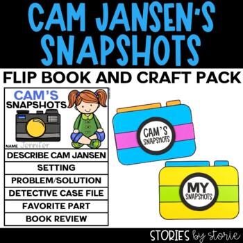 Cam Jansen Flip Book and Camera Craftivity