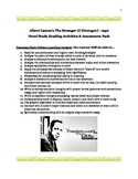 Camus & The Stranger: Common Core Critical Thinking Activities/Assessments Pack!