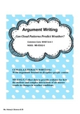 Can Clouds Predict Weather?  NGSS/CCSS Argument Writing in Science (Freebie)