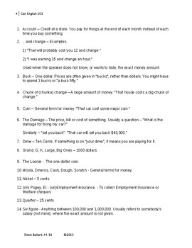 Can-English 101 - The Canadian Slang Dictionary