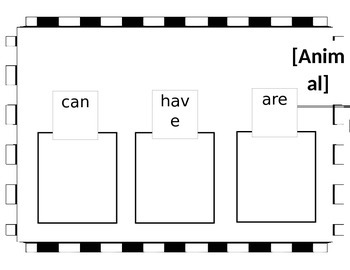 Can, Have, Are Editable Handout