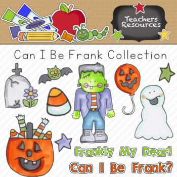 Can I Be Frank Clipart Collection || Commercial Use Allowed