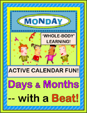 """Can I Get A Monday?"" -- Calendar Time Game with Days and Months"
